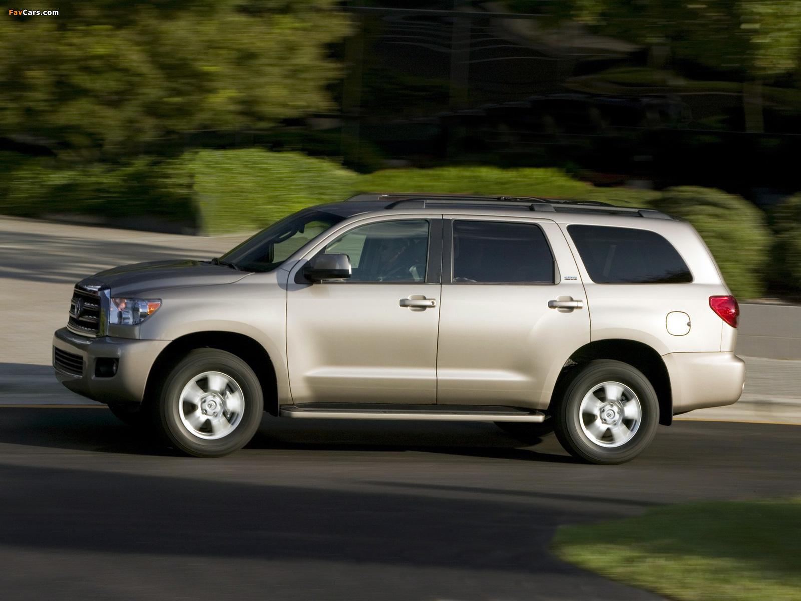 Photos of Toyota Sequoia SR5 2007 (1600 x 1200)