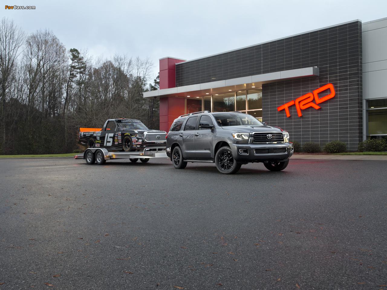 Photos of Toyota Sequoia TRD Sport 2017 (1280 x 960)