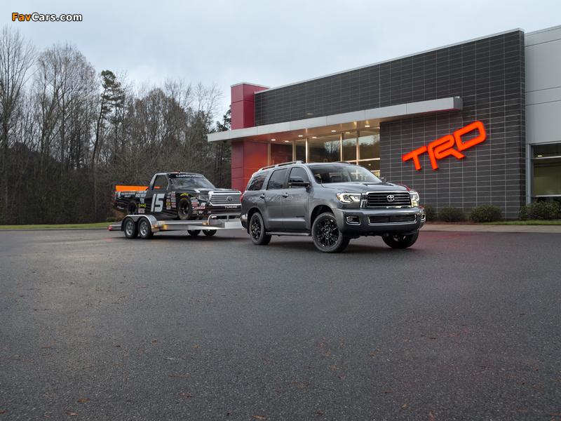 Photos of Toyota Sequoia TRD Sport 2017 (800 x 600)