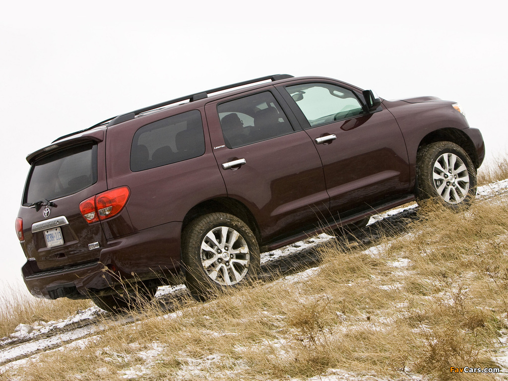 Pictures of Toyota Sequoia Limited 2007 (1024 x 768)
