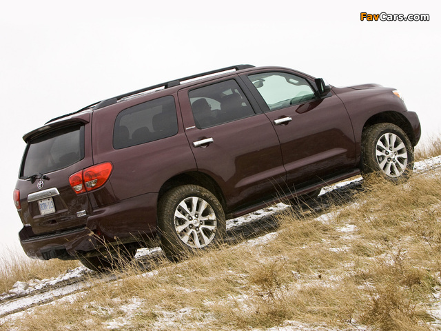 Pictures of Toyota Sequoia Limited 2007 (640 x 480)