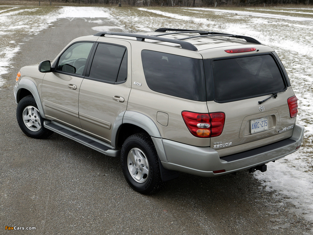 Toyota Sequoia Sr5 2000 05 Images 187561 1024x768 on toyota sequoia