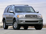 Toyota Sequoia Limited 2000–05 images