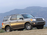Toyota Sequoia Limited 2000–05 photos