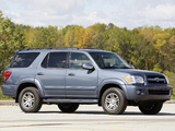 Toyota Sequoia Limited 2005–07 images