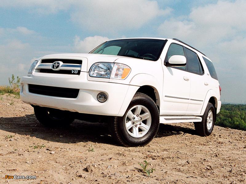 Toyota Sequoia SR5 2005–07 photos (800 x 600)