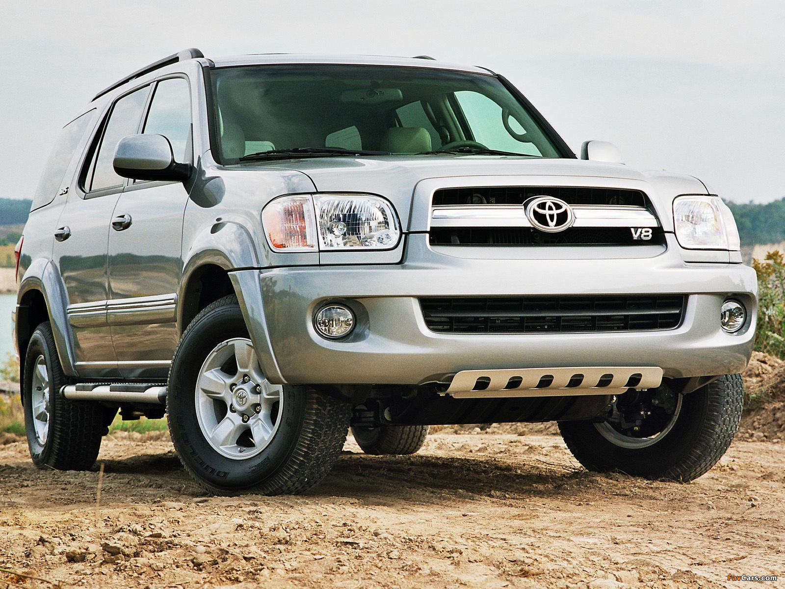 Toyota Sequoia SR5 2005–07 photos (1600 x 1200)