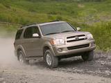 Toyota Sequoia Limited 2005–07 photos
