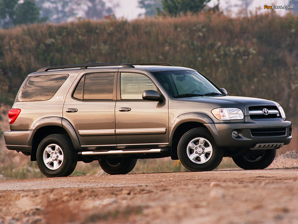Toyota Sequoia SR5 2005–07 pictures (1024 x 768)