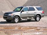 Toyota Sequoia SR5 2005–07 wallpapers