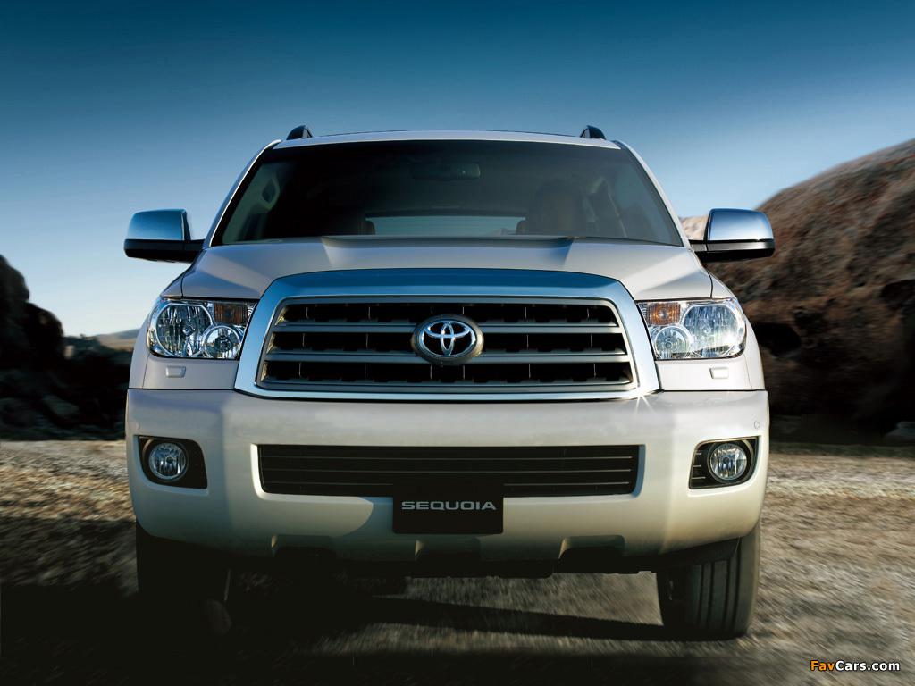 Toyota Sequoia Limited UAE-spec 2007 images (1024 x 768)