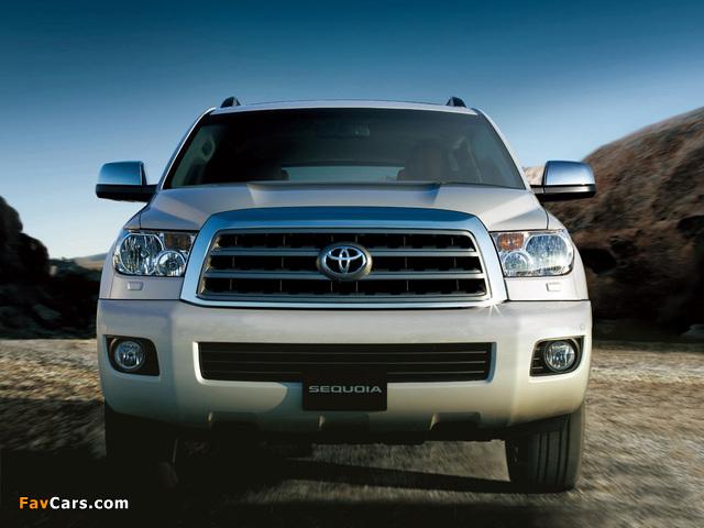 Toyota Sequoia Limited UAE-spec 2007 images (640 x 480)