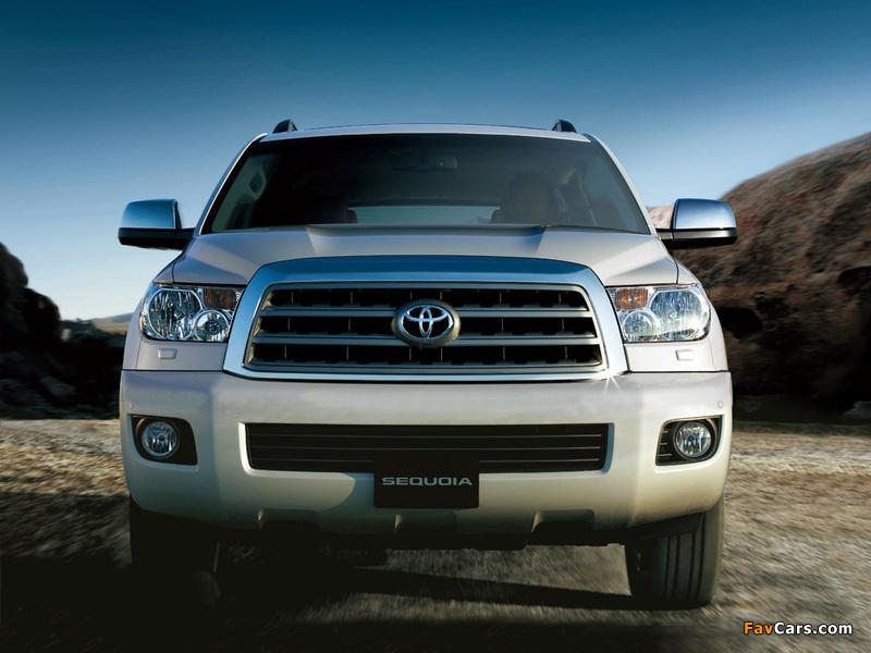 Toyota Sequoia Limited UAE-spec 2007 images (800 x 600)