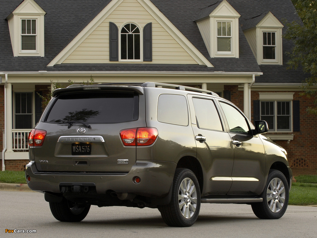 Toyota Sequoia Limited 2007 images (1024 x 768)