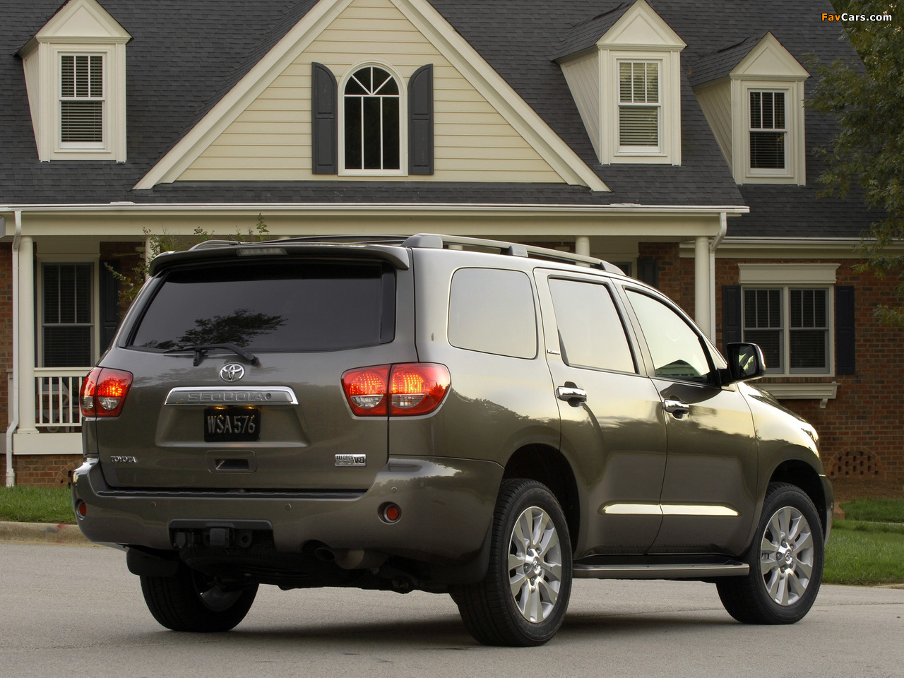 Toyota Sequoia Limited 2007 images (1280 x 960)