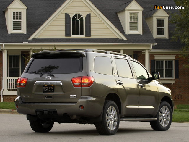 Toyota Sequoia Limited 2007 images (640 x 480)