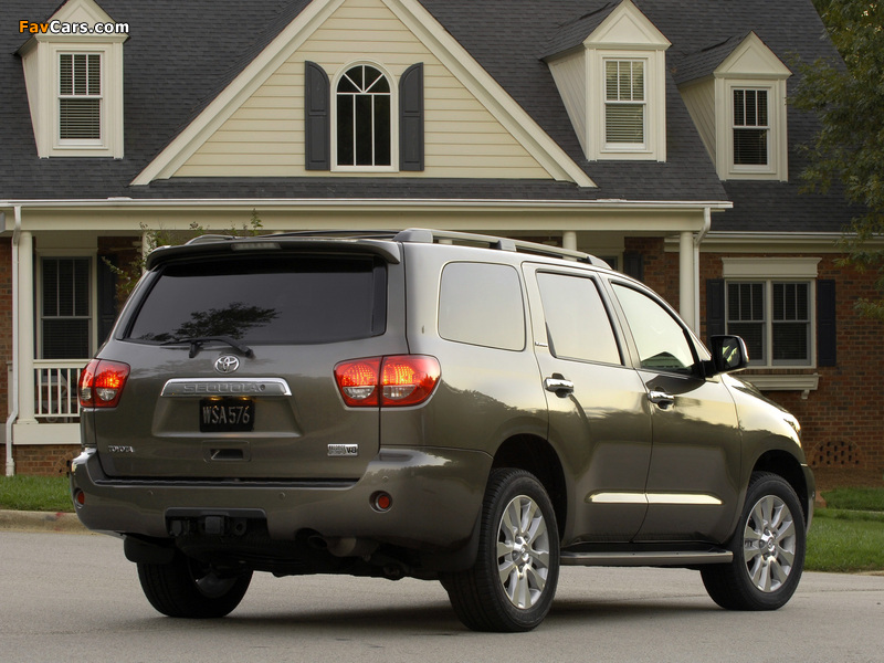 Toyota Sequoia Limited 2007 images (800 x 600)