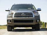 Toyota Sequoia Platinum 2007–2017 images