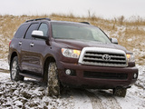 Toyota Sequoia Limited 2007–17 photos