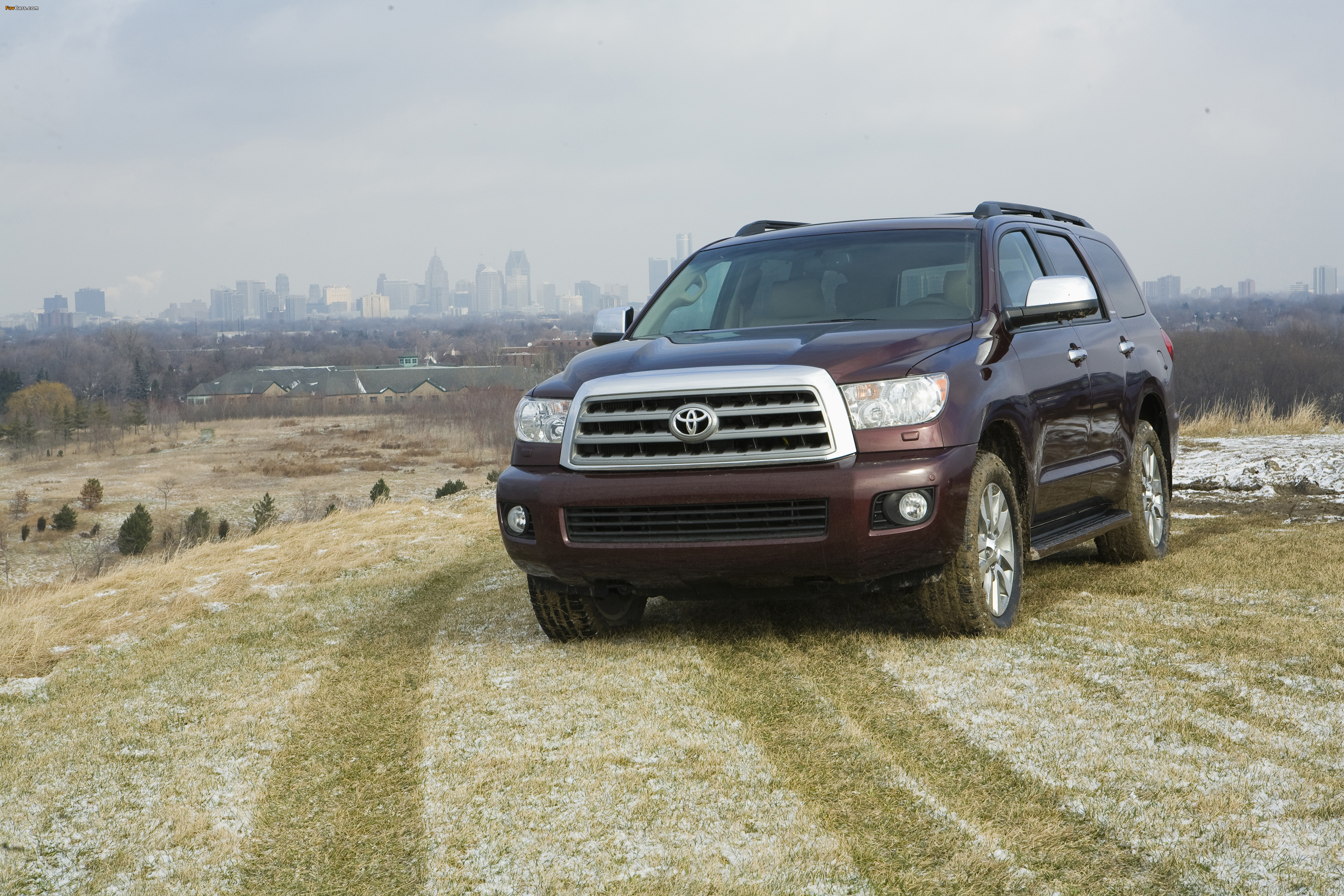 Toyota Sequoia Limited 2007–17 pictures (4096 x 2731)