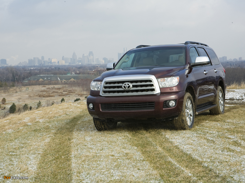 Toyota Sequoia Limited 2007–17 pictures (1024 x 768)