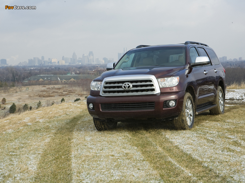 Toyota Sequoia Limited 2007–17 pictures (800 x 600)