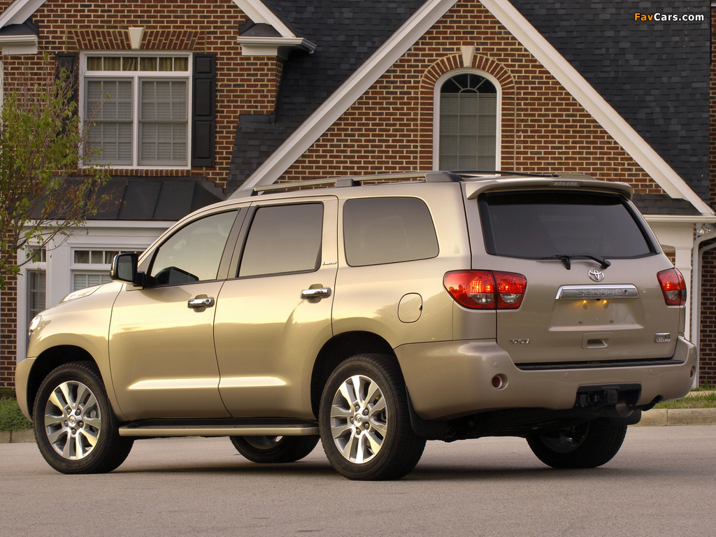 Toyota Sequoia Limited 2007 pictures (1024 x 768)