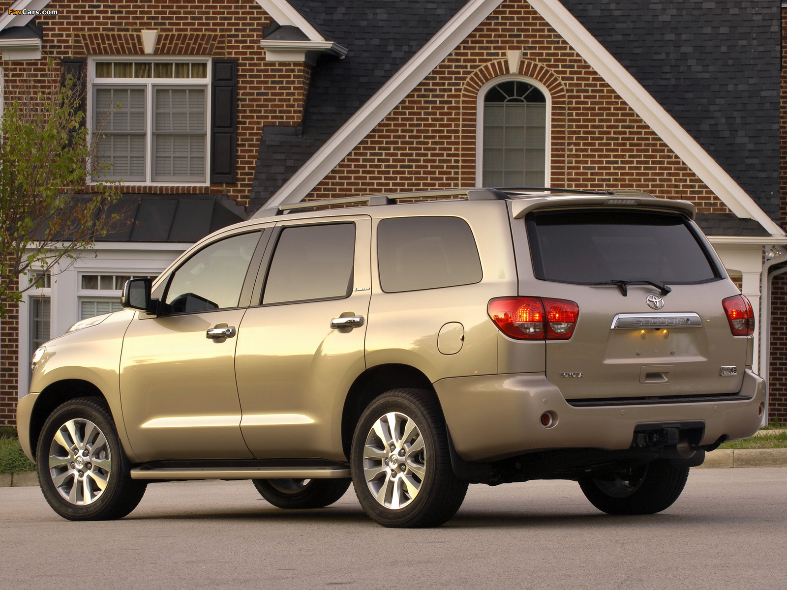 Toyota Sequoia Limited 2007 pictures (1600 x 1200)