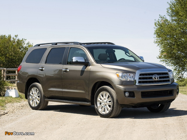 Toyota Sequoia Limited 2007 pictures (640 x 480)
