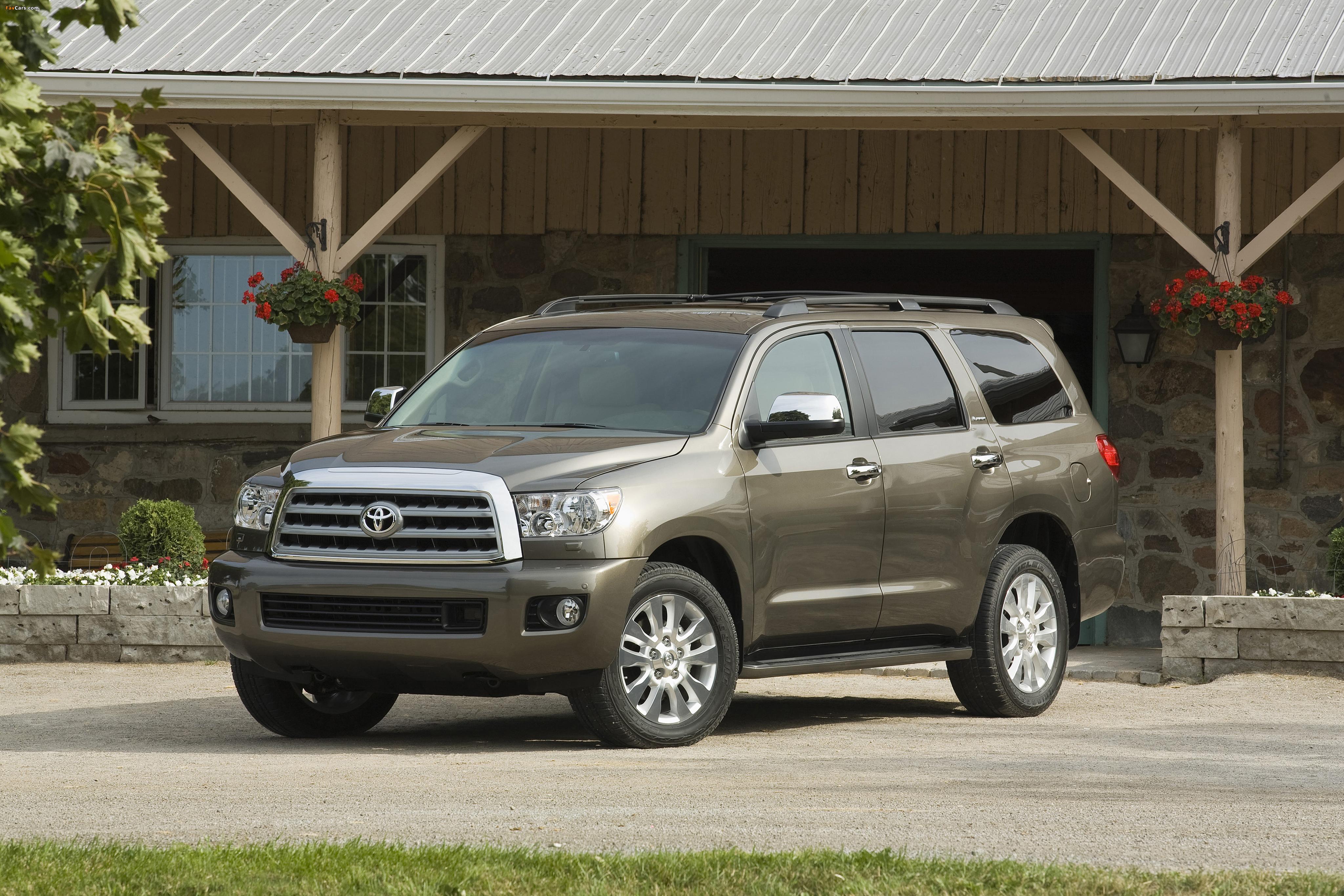 Toyota Sequoia Platinum 2007–2017 pictures (4096 x 2731)