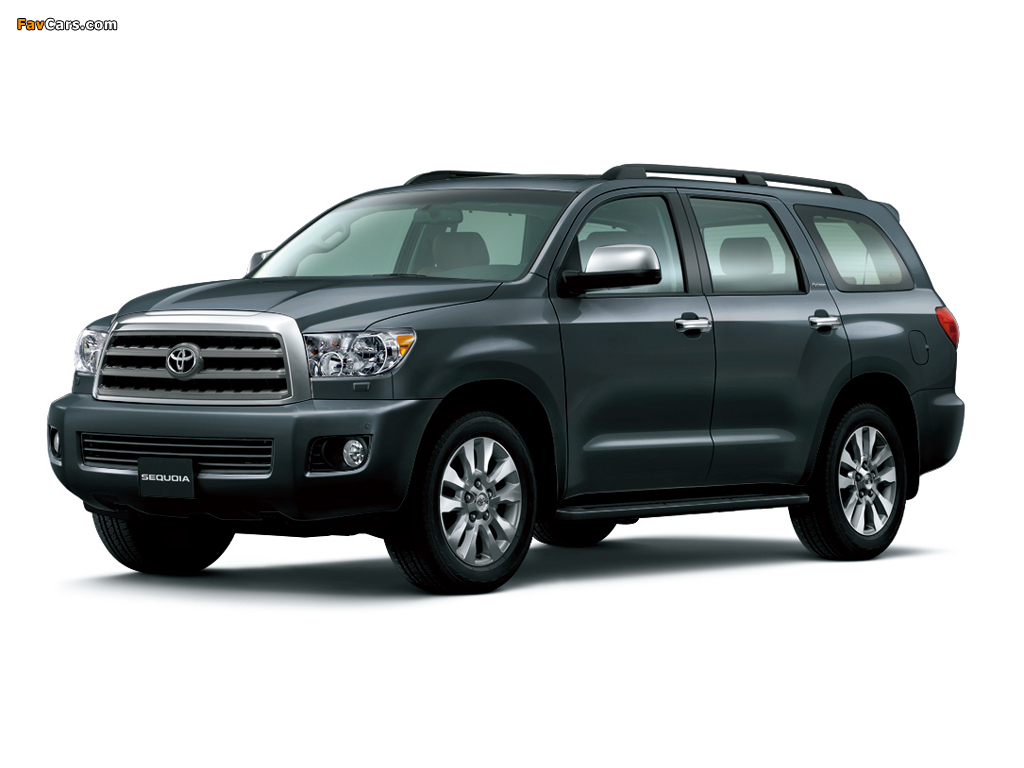 Toyota Sequoia Limited UAE-spec 2007 wallpapers (1024 x 768)
