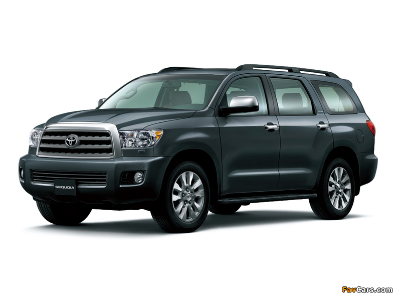 Toyota Sequoia Limited UAE-spec 2007 wallpapers (800 x 600)