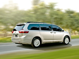 Images of 2015 Toyota Sienna 2014