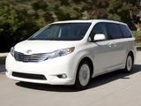 Pictures of Toyota Sienna 2010