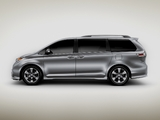 Pictures of Toyota Sienna SE 2010