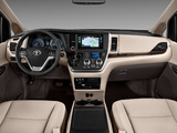 Pictures of 2015 Toyota Sienna 2014