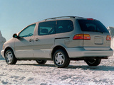Toyota Sienna 1997–2001 images