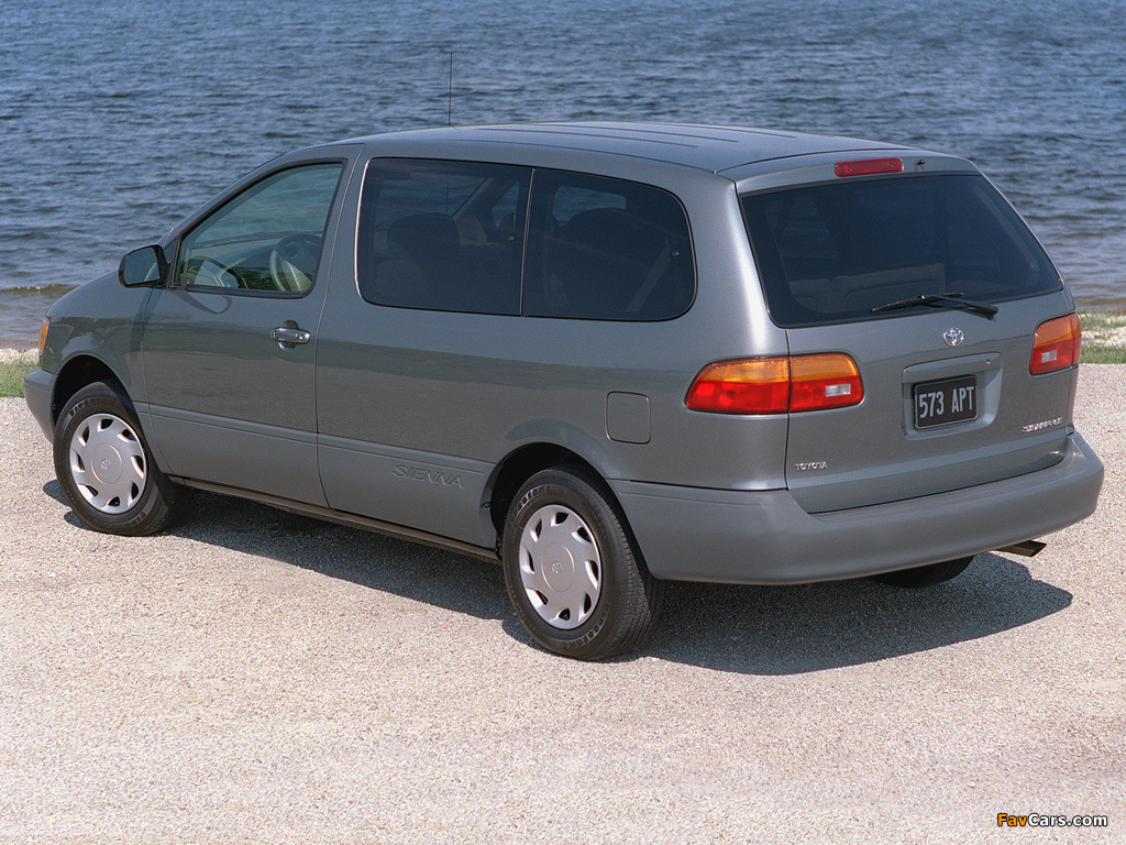 Toyota Sienna 1997–2001 wallpapers (1024 x 768)