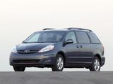 Toyota Sienna 2005–10 photos