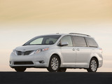 Toyota Sienna 2010 images