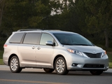 Toyota Sienna 2010 wallpapers