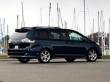 Toyota Sienna SE 2010 wallpapers