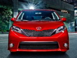 2015 Toyota Sienna SE 2014 pictures