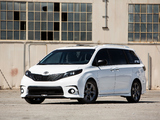 Toyota Sienna SE + Concept (XL30) 2016 pictures