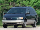 Toyota Sienna 1997–2001 wallpapers