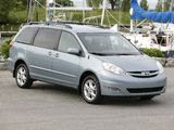 Toyota Sienna 2005–10 wallpapers