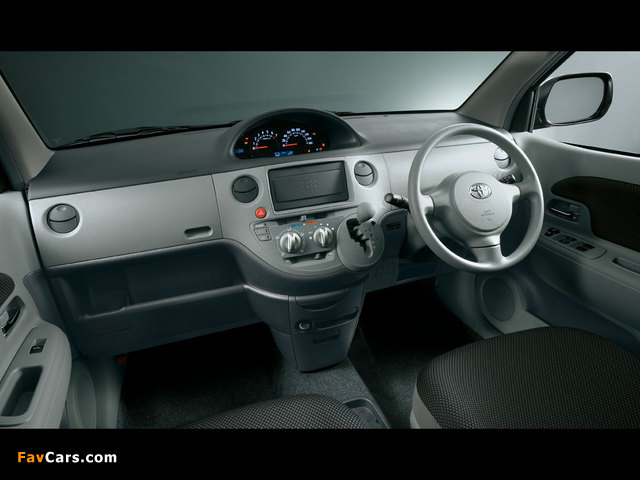 Pictures of Toyota Sienta (NCP81G) 2003–06 (640 x 480)