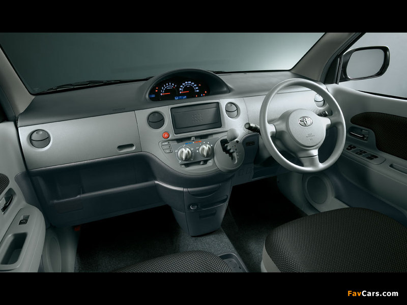 Pictures of Toyota Sienta (NCP81G) 2003–06 (800 x 600)