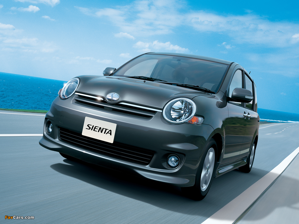 Pictures of Toyota Sienta X S Edition (NCP81G) 2006–10 (1024 x 768)