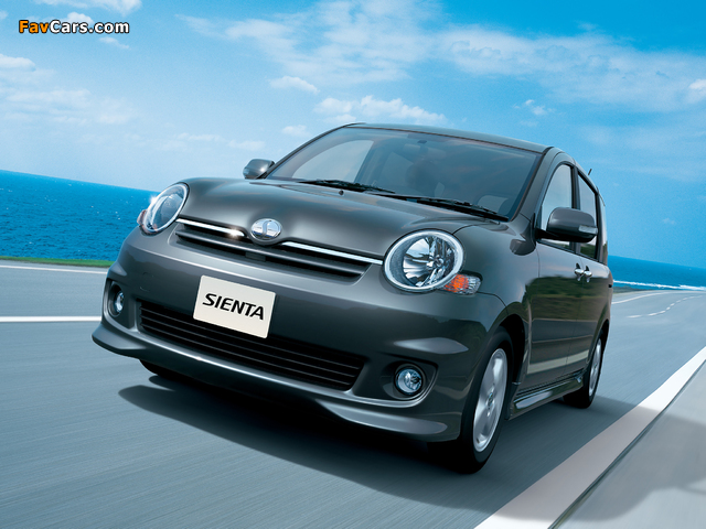 Pictures of Toyota Sienta X S Edition (NCP81G) 2006–10 (640 x 480)